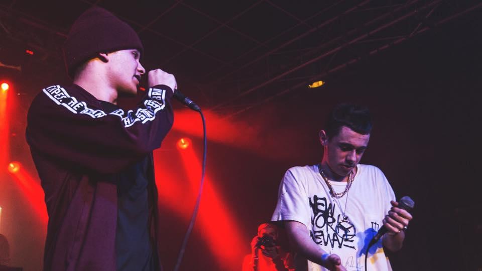 Due artisti della nuova scena rap parmigiana: Alak Kadmon e Young Kourt